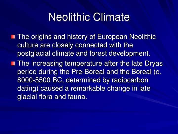 Neolithic Climate
