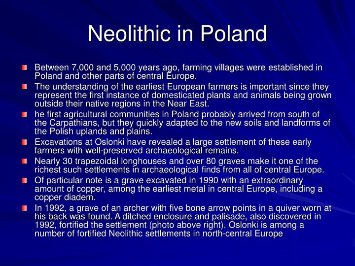 Neolithic in Poland