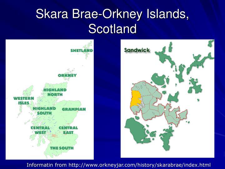 Skara Brae-Orkney Islands, Scotland