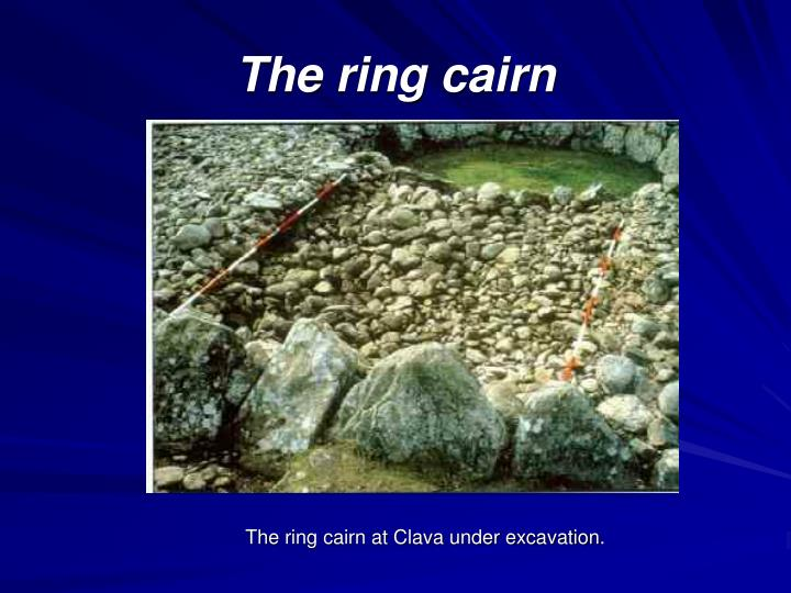 The ring cairn