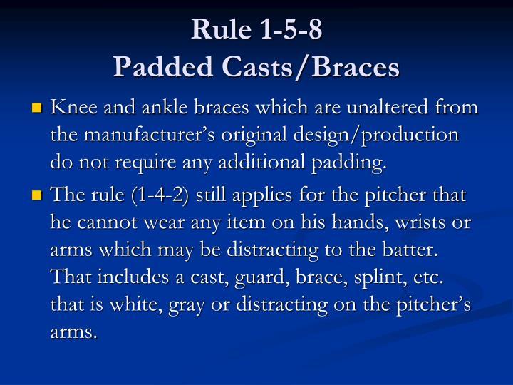 Rule 1-5-8