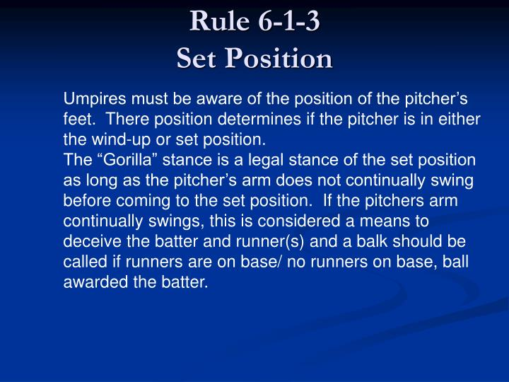 Rule 6-1-3