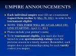 umpire announcements1