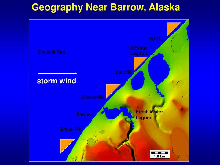 Geography Near Barrow, Alaska