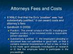 attorneys fees and costs