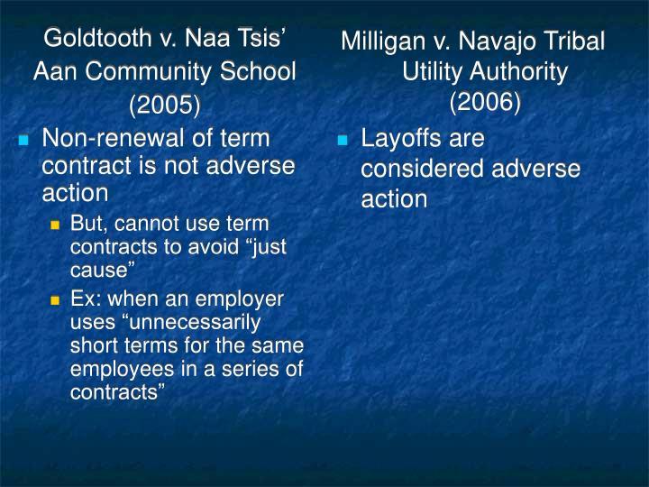 Goldtooth v. Naa Tsis'
