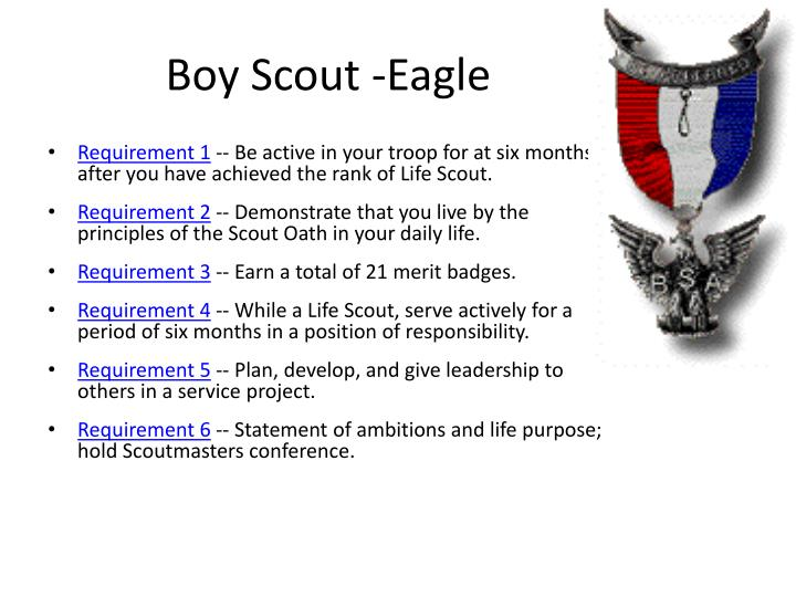 Boy Scout -Eagle