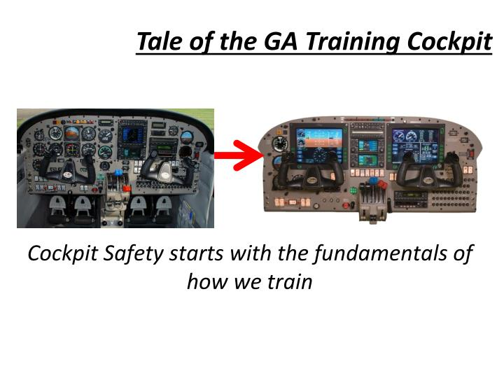 Tale of the GA Training Cockpit