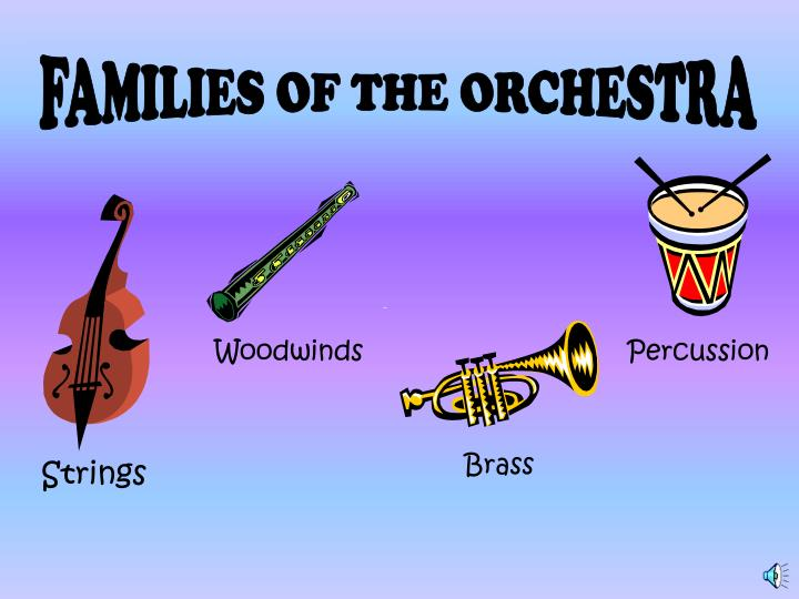 FAMILIES OF THE ORCHESTRA