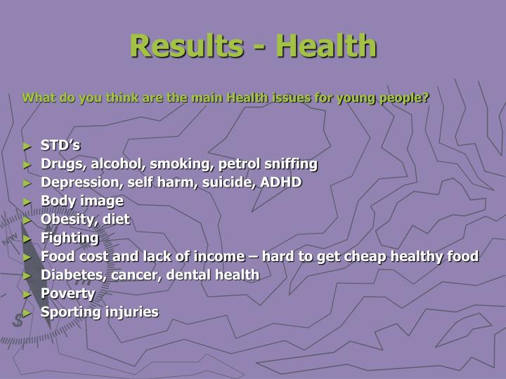 Results - Health