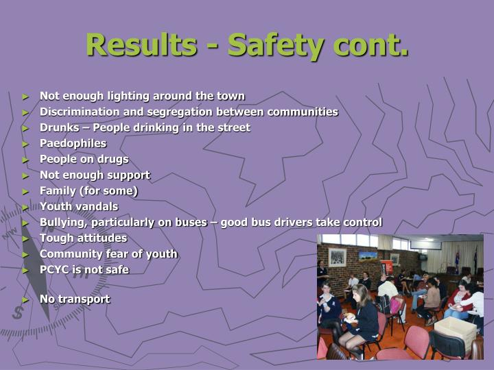 Results - Safety cont.