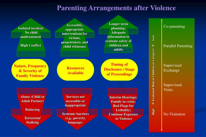 Parenting Arrangements after Violence