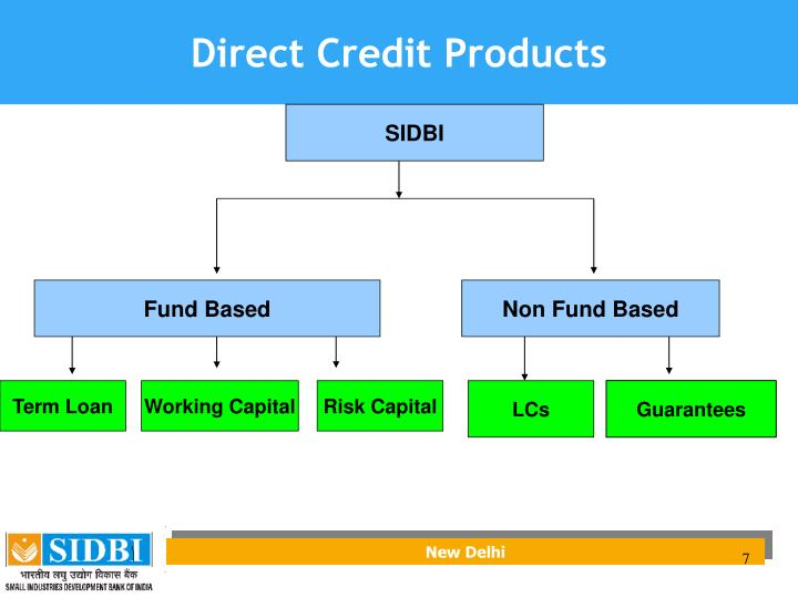 Direct Credit Products