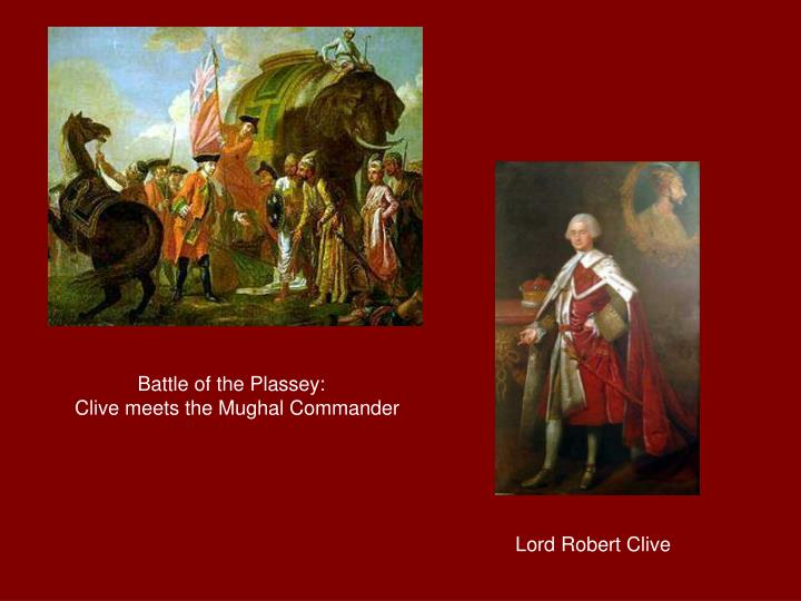 Battle of the Plassey: