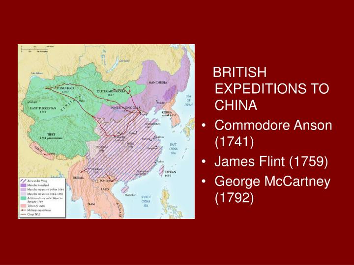 BRITISH EXPEDITIONS TO CHINA