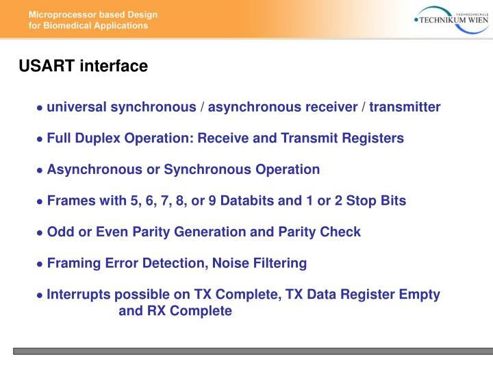 USART interface