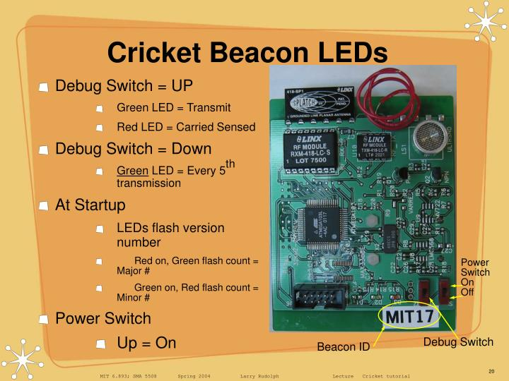 Cricket Beacon LEDs