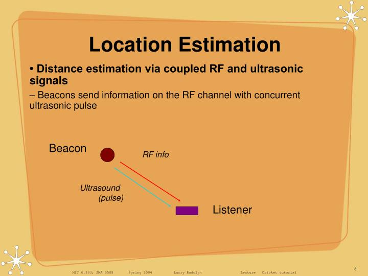 Location Estimation
