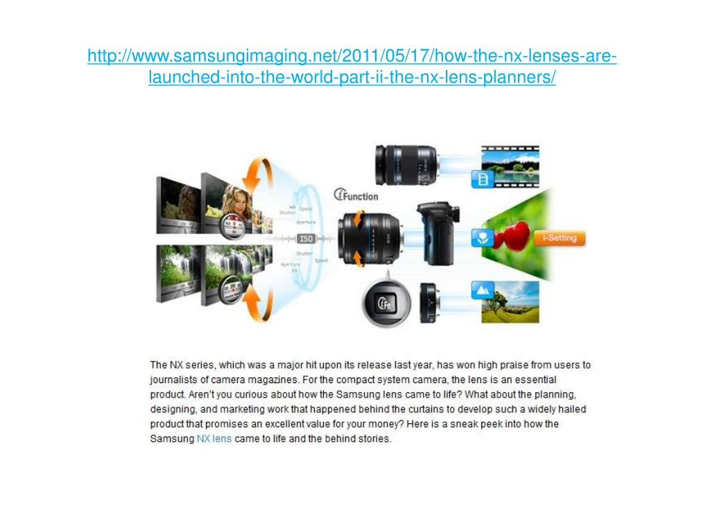 http://www.samsungimaging.net/2011/05/17/how-the-nx-lenses-are-launched-into-the-world-part-ii-the-nx-lens-planners/