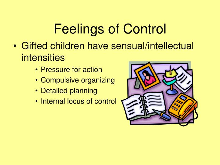 Feelings of Control