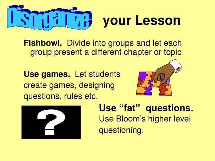 your Lesson