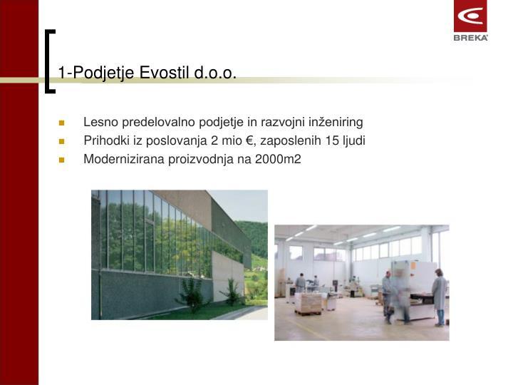 1-Podjetje Evostil d.o.o.