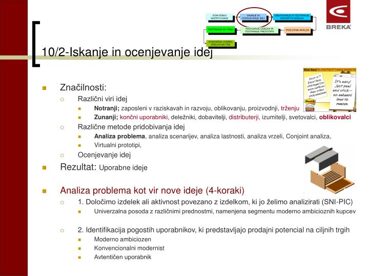 10/2-Iskanje in ocenjevanje idej