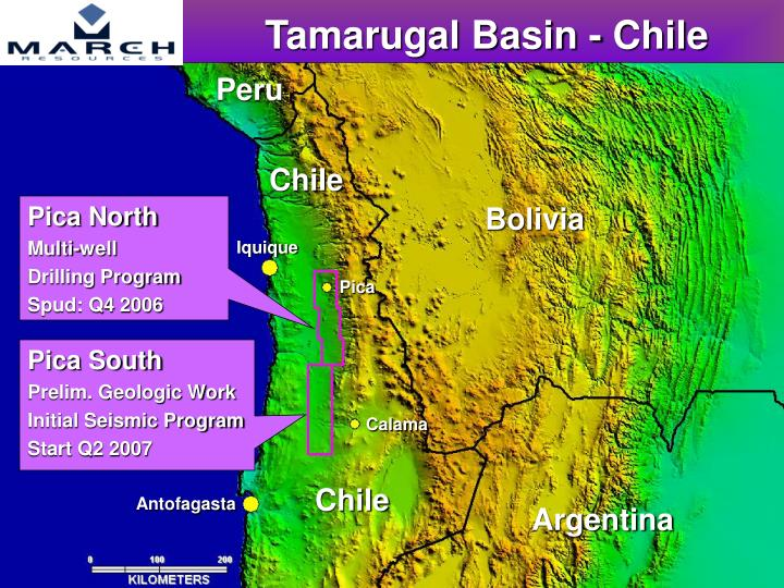 Tamarugal Basin - Chile