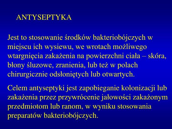 ANTYSEPTYKA