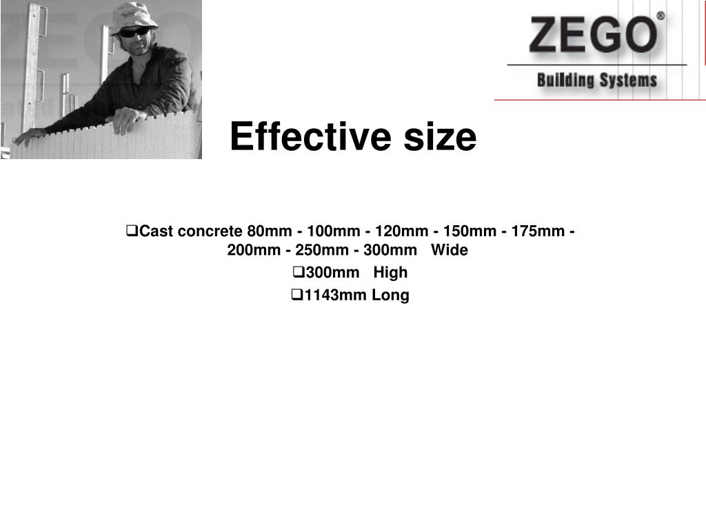 Effective size