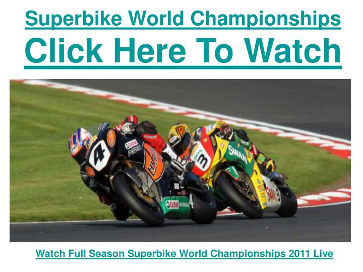 Superbike world championships click here to watch