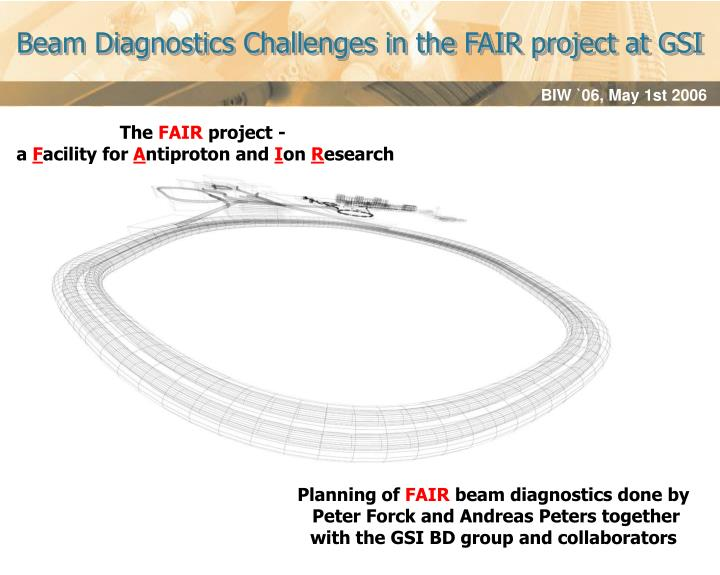 Beam Diagnostics Challenges in the FAIR project at GSI