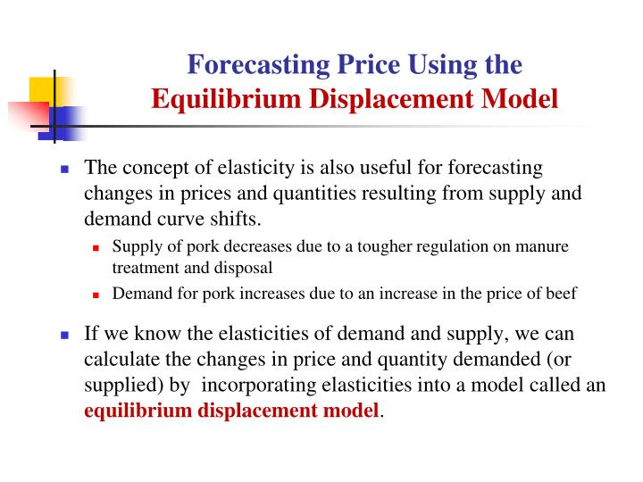 Forecasting Price Using the
