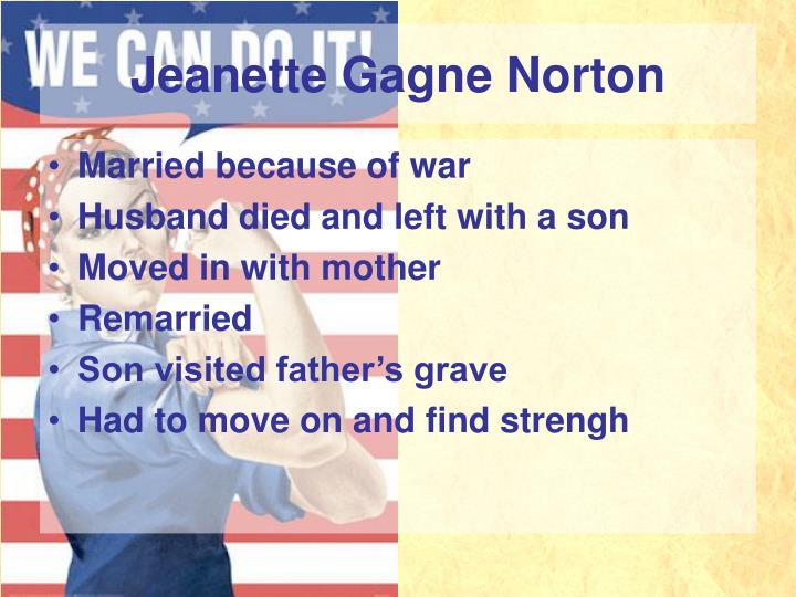 Jeanette Gagne Norton