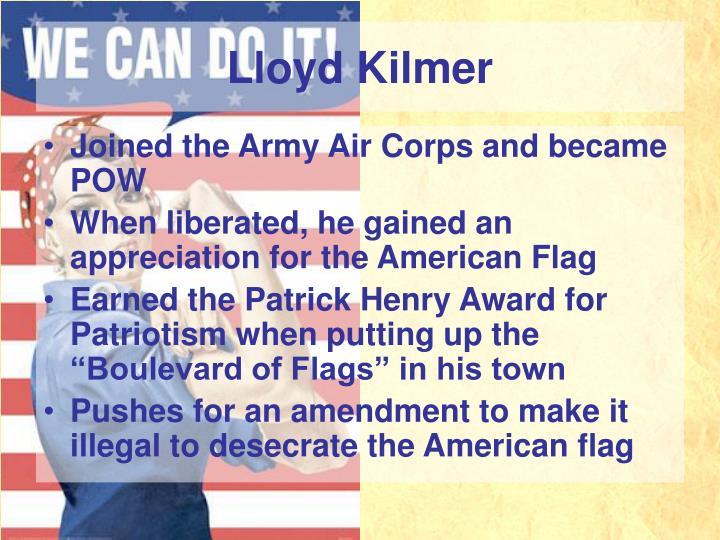 Lloyd Kilmer