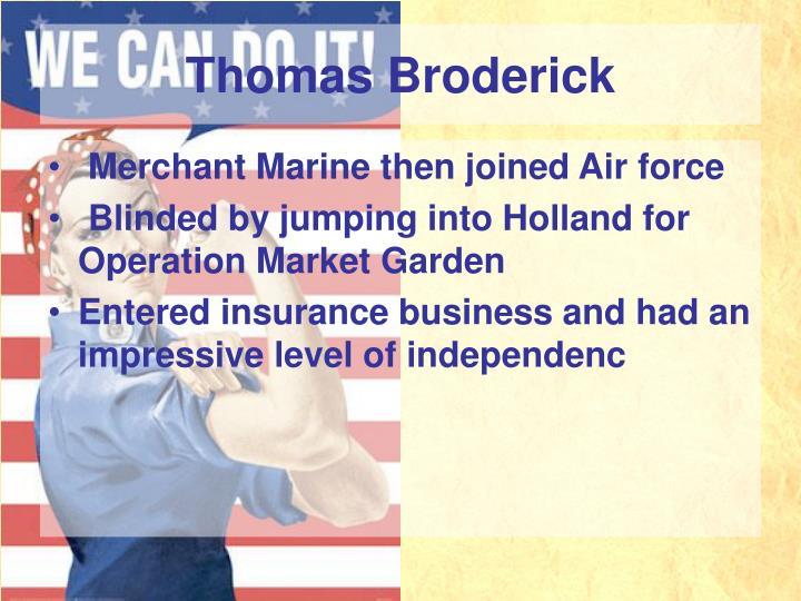 Thomas Broderick