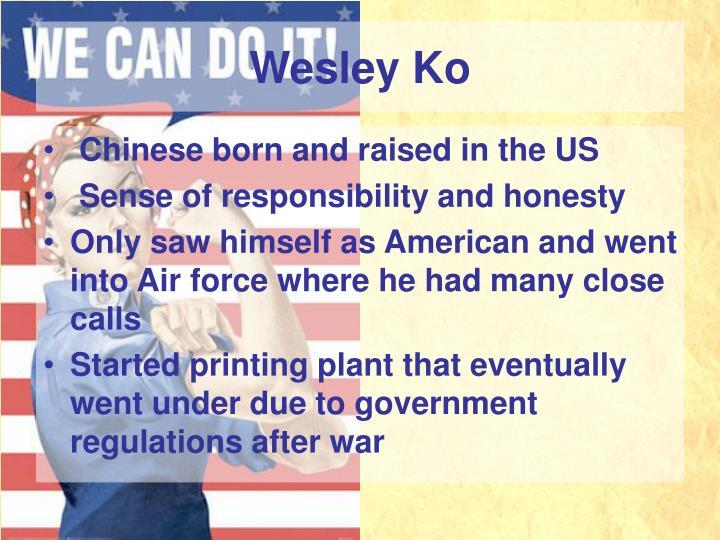 Wesley Ko