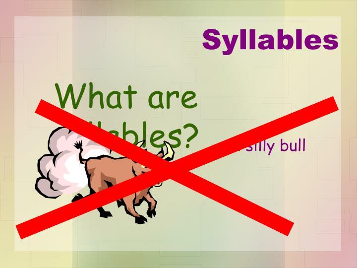 A silly bull