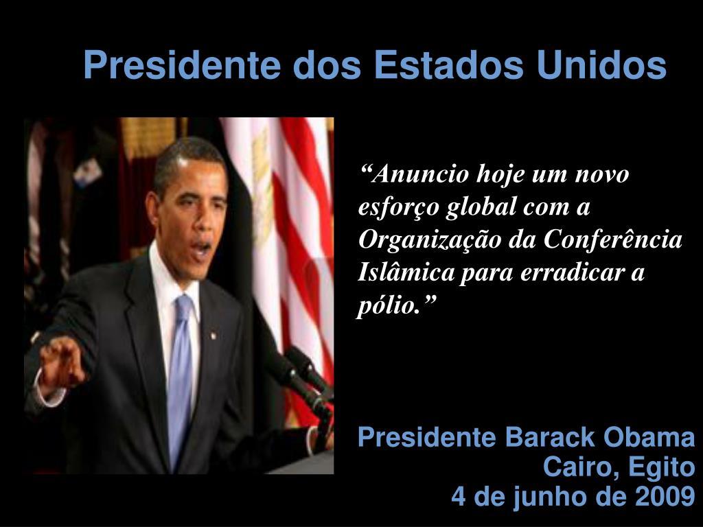 Presidente dos Estados Unidos