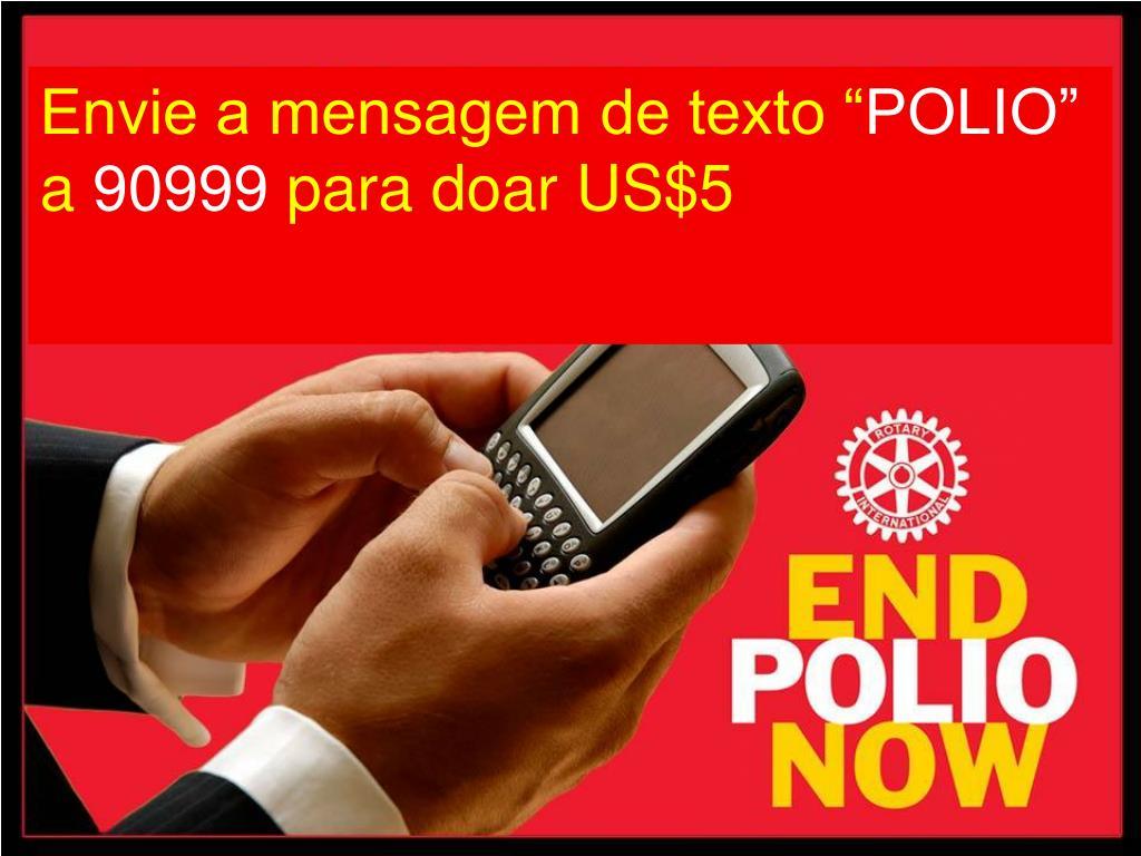 """Envie a mensagem de texto """""""