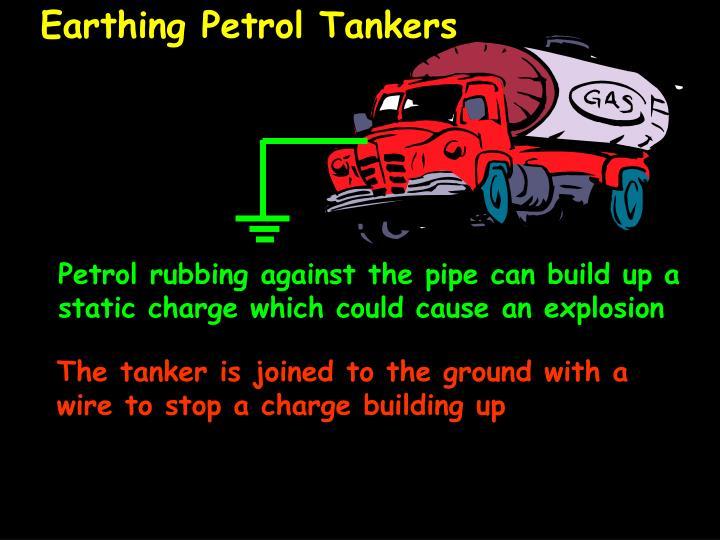 Earthing Petrol Tankers