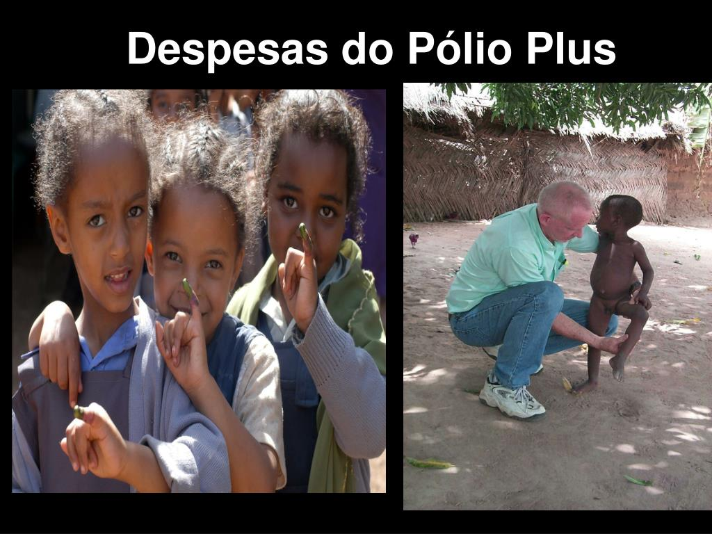 Despesas do Pólio Plus