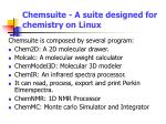 chemsuite a suite designed for chemistry on linux