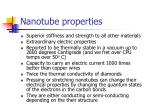 nanotube properties