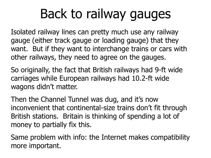 Back to railway gauges