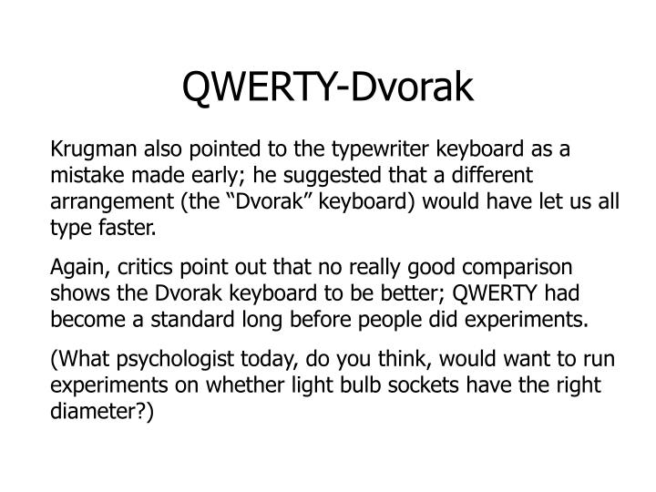 QWERTY-Dvorak