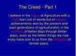 the creed part 1