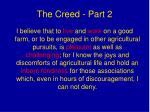 the creed part 2