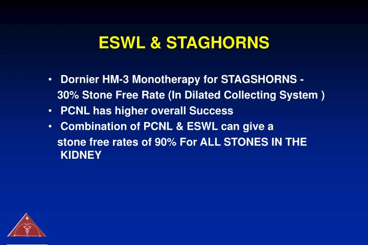 ESWL & STAGHORNS