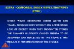 extra corporeal shock wave lithotripsy eswl